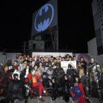 バットシグナルが渋谷の夜空に!『バットマン80周年記念 バットシグナル点灯セレモニー』ゲスト:ジム・リー