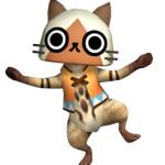 PSP『モンスターハンターポータブル 3rd』、『MHP 2nd』と『ぽかぽかアイルー村』のセーブデータと連動!