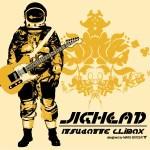 """カオスバンド「JIGHEAD」""""グルグルUFO""""TシャツがMARS SIXTEENからリリース決定!"""