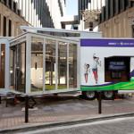 「Xbox 360 Kinect 体験キャラバンイベント」 Kinect 体験キャラバンカー が9月24日(土)、25日(日)に横浜スタジアムに登場!