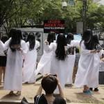 『貞子3D』韓国に上陸!ソウル市内に大量の貞子が発生!