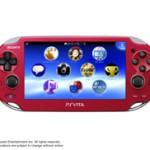 PS Vita新色「コズミック・レッド」「サファイア・ブルー」発売決定