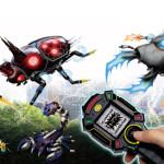 日常の電波(携帯電話・Wi-Fi・無線LAN等)に反応して「電虫」が出現!電虫採集シリーズ『電虫トルーペ 』発売決定!