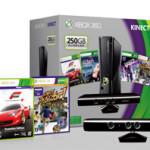 【マイクロソフト】Xbox 360用ソフト4本を同梱した「Xbox 360 250GB + Kinect プレミアムセット」を数量限定で3月7日に発売