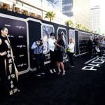 映画『パシフィック・リム』巨大ビルボードもジャック!!全米公開目前、超大作 L.A.プレミア開催。日本人キャスト・菊地凛子「バベル」以来2度目の来場にこの日一番の歓声!