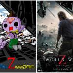 """いま、子供達の間で大ブレイク中の""""キモカワ""""キャラとコラボ!映画『ワールド・ウォー Z』×ゾゾゾ ゾンビーくん、描き下ろしコラボイラストが公開!"""