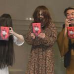 『死霊のはらわた』ミア×貞子×稲川淳二初対面!ミア&貞子「恋愛には奥手」DVDリリース記念イベント開催!