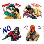 DC コミックス バットマン誕生75 周年記念 「Batman」 LINE スタンプ(全40種)が登場!