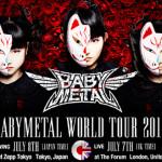 『BABYMETAL WOLD TOUR 2014』ロンドン公演のライブ・ビューイングが決定!!