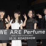 【第28回東京国際映画祭】映画『WE ARE Perfume -WORLD TOUR 3rd DOCUMENT』舞台挨拶レポート!