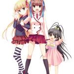上坂すみれさん、喜多村英梨さん、五十嵐裕美さんが大ヒットを祈願!TVアニメ「パパのいうことを聞きなさい!」