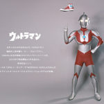 「ウルトラマン」×「コンバース」のコラボスニーカーが7月リリース決定!