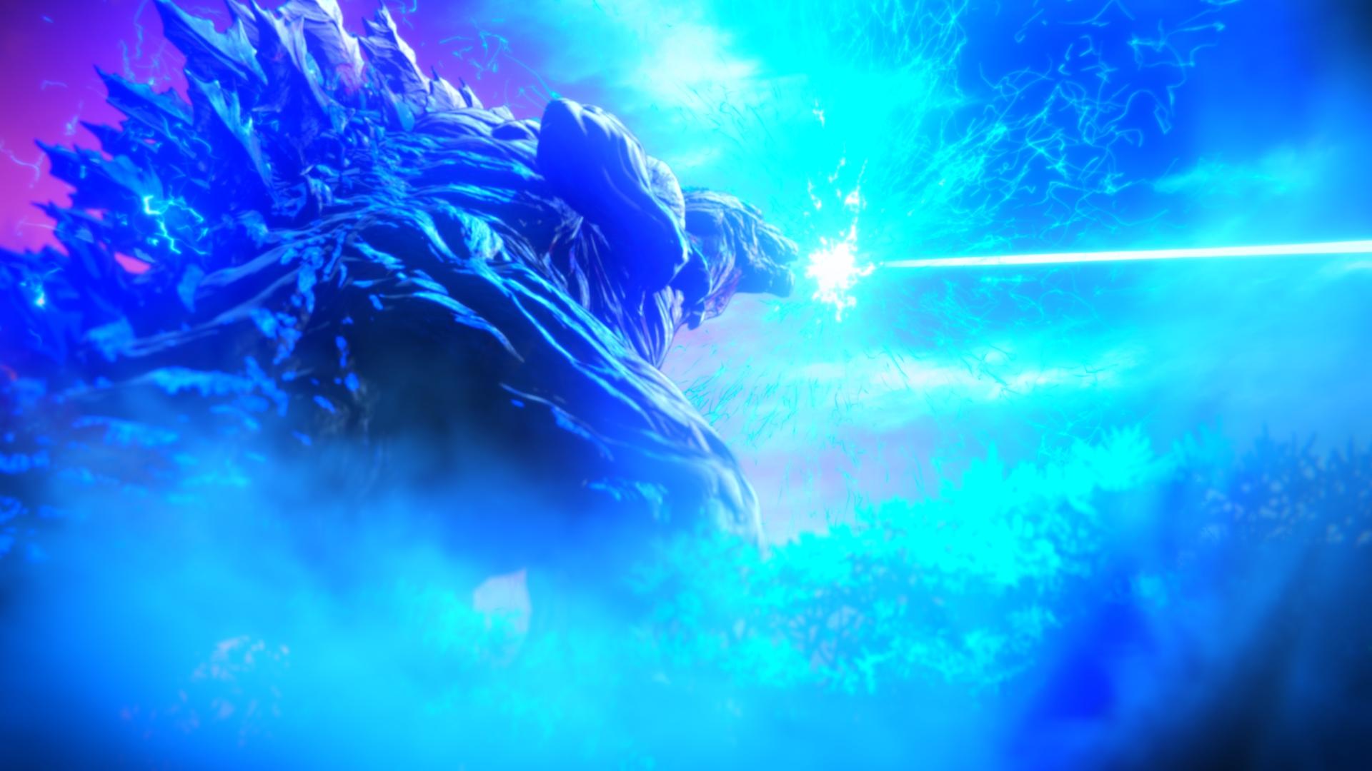 ゴジラが放つ熱線が地球を切り裂く Godzilla 怪獣惑星 本予告 最新場面カット解禁