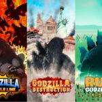 「ゴジラ」がスマホゲームで全世界上陸!2021年に、3タイトルが連続リリース決定!
