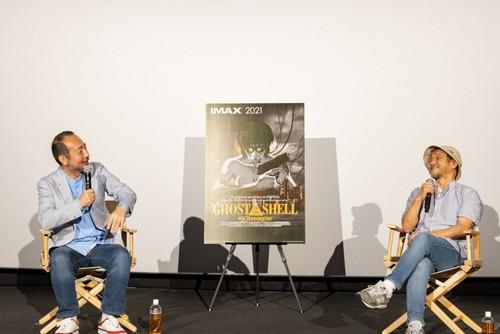 "<span class=""title"">『GHOST IN THE SHELL/攻殻機動隊 4Kリマスター版』 IMAX 公開記念舞台挨拶オフィシャルレポート</span>"