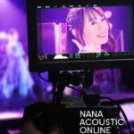 水樹奈々、初めての配信ライブを収録した 「NANA ACOUSTIC ONLINE」BD&DVDジャケット写真を公開! 映像特典には「テルミドールの反動 -Director's cut-」を収録!