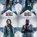 『ファルコン&ウィンター・ソルジャー』物語の鍵を握る4人のキャラクターポスターが解禁!