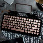 タイプライター風レトロデザインと先進技術が融合!モバイルキーボード Vinpok「Rymek」を再入荷!