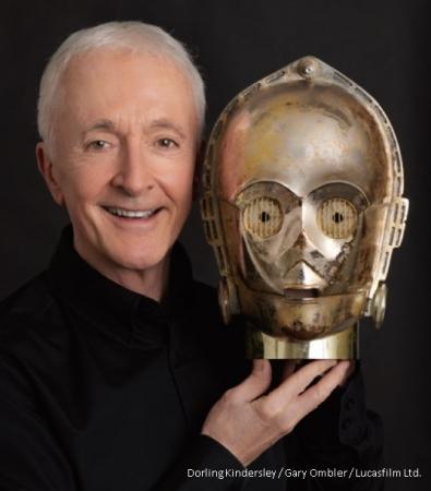 「スター・ウォーズ」シリーズ、42年間の舞台裏を C-3PO役のアンソニー・ダニエルズが初告白!! 『私はC-3PO』刊行