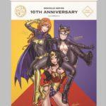 BISHOUJOシリーズより、 「DC COMIS美少女」のタペストリーが登場!