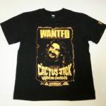 大流血のハードコア・レジェンド「カクタス・ジャック」ウガンダの大魔神、究極の怪奇派レスラー「ジャイアント・キマラ」Tシャツがまさかの同時発売!