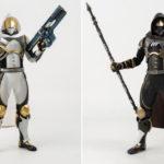 ゲーム『Destiny 2』より「ハンター」のフル可動フィギュアが「黄金の軌跡・シェーダー」と「カルスに選ばれし者・シェーダー」の姿で登場!