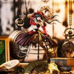 アニメ『デート・ア・バレット』より、妖艶な深紅のドレス姿の「時崎狂三」のフィギュアが登場!豪華特典付きの特装版も発売決定!