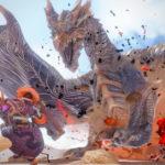クシャルダオラの強力な個体に挑め! 『モンスターハンターライズ』のイベントクエスト「砂塵に揺らめく嵐の支配者」とアイテムパック「ギルドからの供給品2」が配信開始。