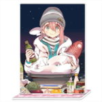 ゆるキャン△より、ゆるキャン△ 起毛ブランケット・アクリルポートレートが新発売  12月25日より予約販売開始!