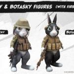 ミリタリーアクションCG映画『 CAT SHIT ONE 』幻のフィギュア《 パッキー & ボタスキー 》クラウドファンディング・プロジェクト開始!